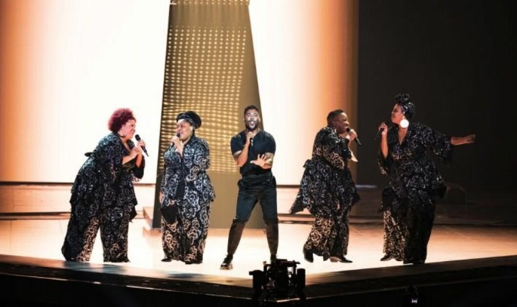 The Mamas tävlade med John Lundvik i Melodifestivalen 2019.