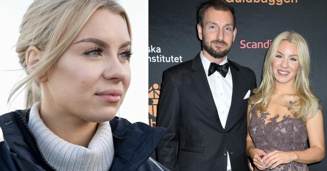 Therese Lindgren avslöjar tuffa relationskampen med Anders – som tittarna inte får se