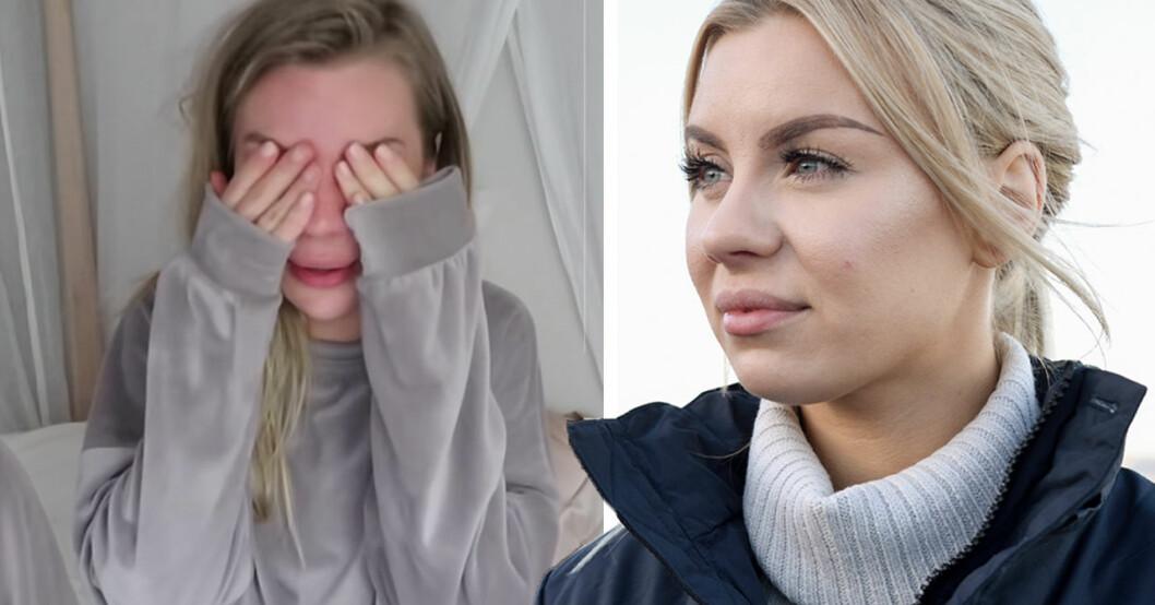 Therése Lindgrens tårar i sommarpratet – orden om det fruktansvärda