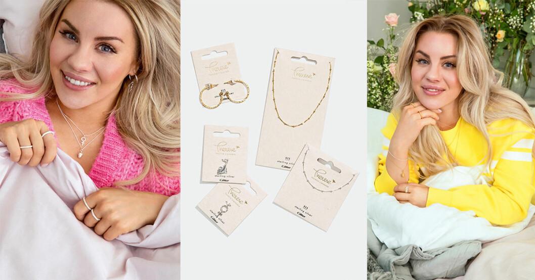 Therese Lindgrens smyckeskollektion för Glitter