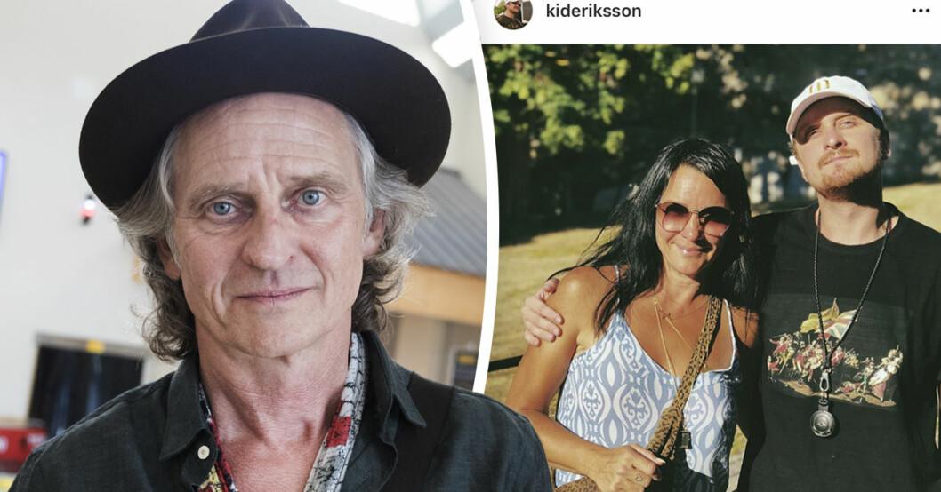 """Thomas """"Orup"""" Eriksson om oron över sonen Kid Eriksson i valet av en karriär inom musikbranschen."""