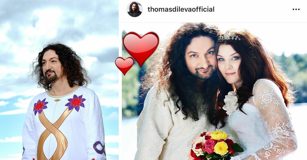 Thomas Di Leva och Sofie Oscarsson