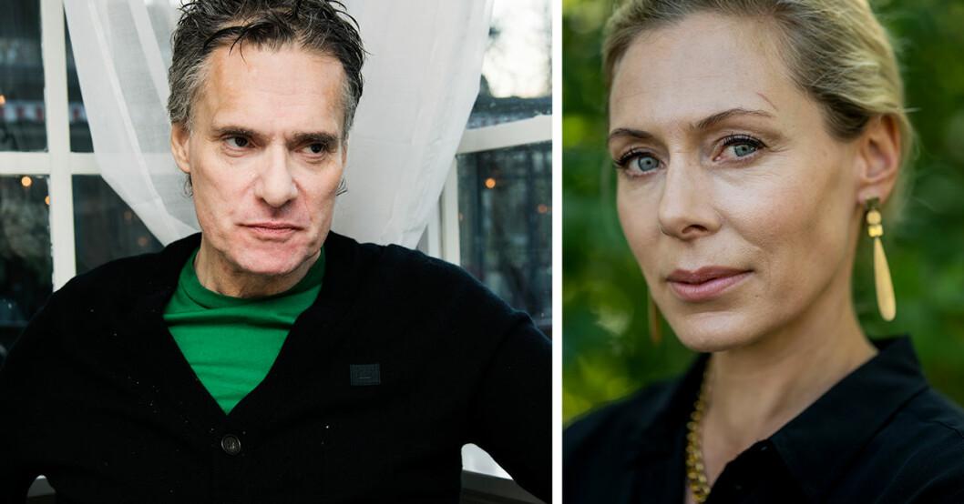 Thorsten Flinck och Eva Röse