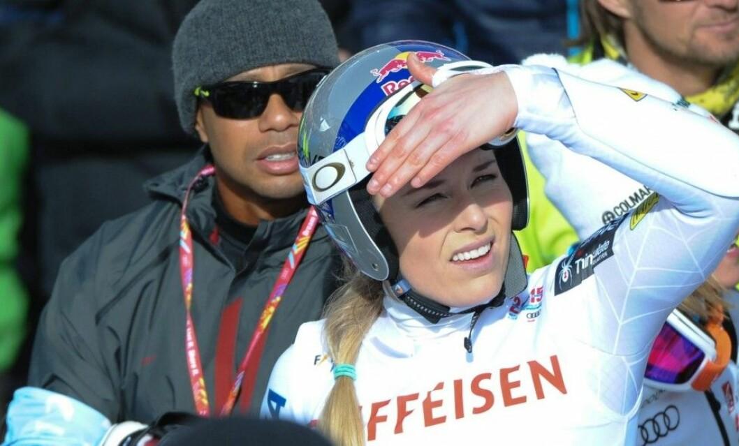 De båda idrottarna har försökt stötta varandras karriärer men har haft svårt att få tiden att gå ihop. Foto: All Over Press