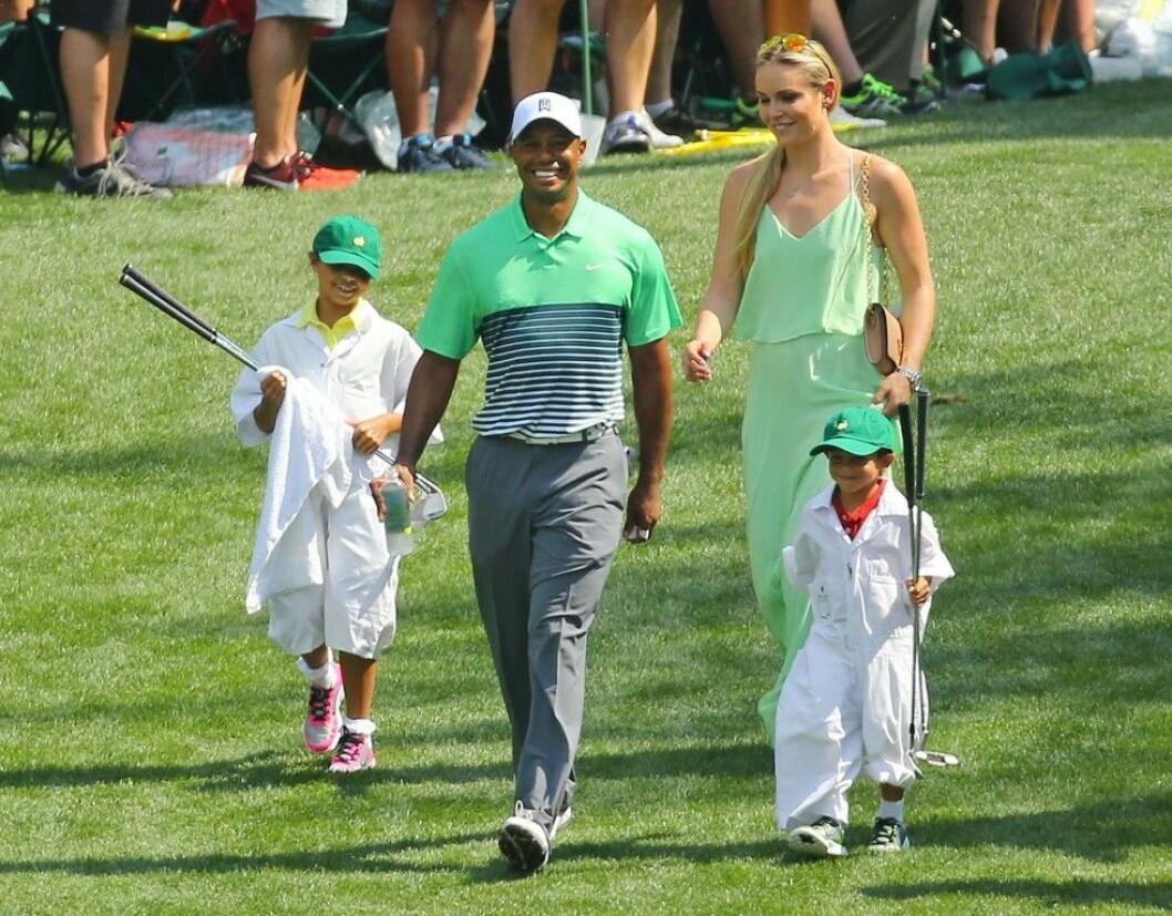 Lindsey har tagit stort ansvar för Tigers barn Sam och Charlie. Foto: IBL
