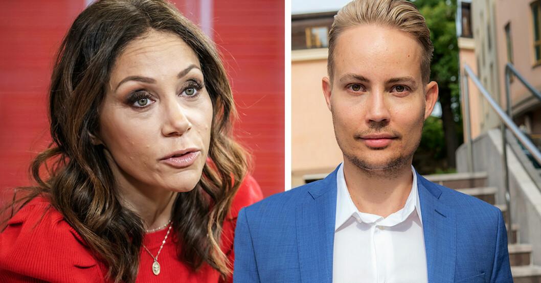 Henrik Alsterdal om verkliga relationen till kollegan Tilde De Paula Eby