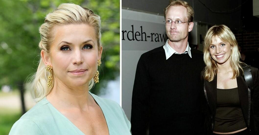 Tina Nordström och maken Martin