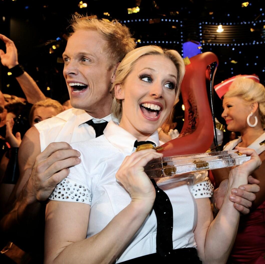 Tina Nordström och Tobias Karlsson vann Let's dance