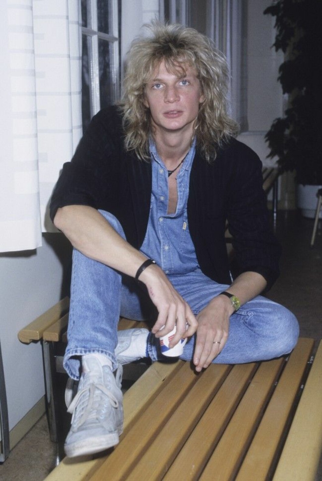 Tommy Nilsson sångare 1989 dia 3966