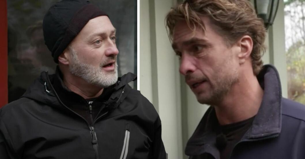 Tony Irving och Anders Öfvergård.