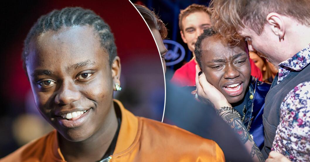 Tusse Chiza vinner finalen i TV4:s program Idol 2019