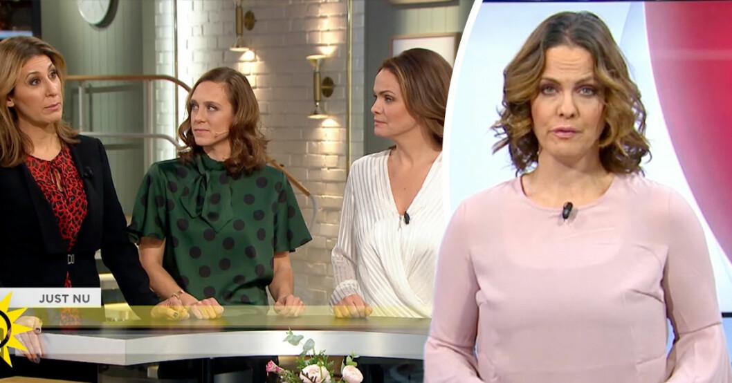 Programledaren Suzanne Sjögren avslöjar sanningen om avhoppet på TV4