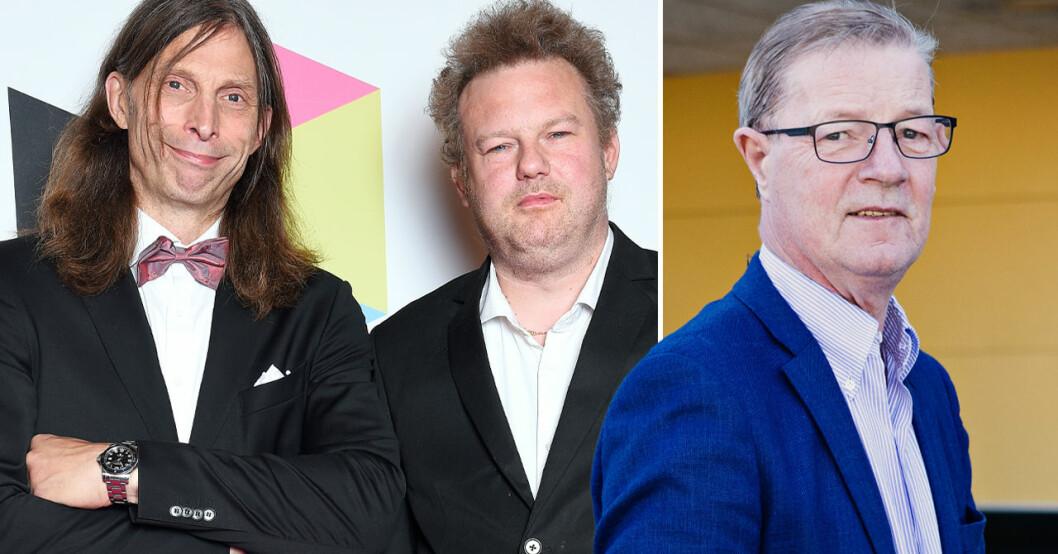 Ola-Conny, Morgan och Boris