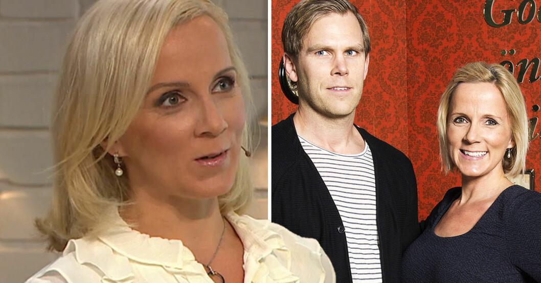 Ulrika Elvgren och maken Daniel.
