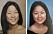 Lika som bär. Två äldre bilder av systrarna som unga.