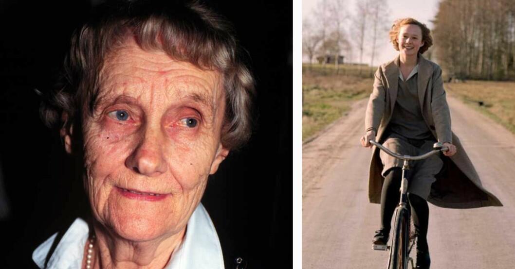 Astrid Lindgrens dotter kritisk till filmen Unga Astrid