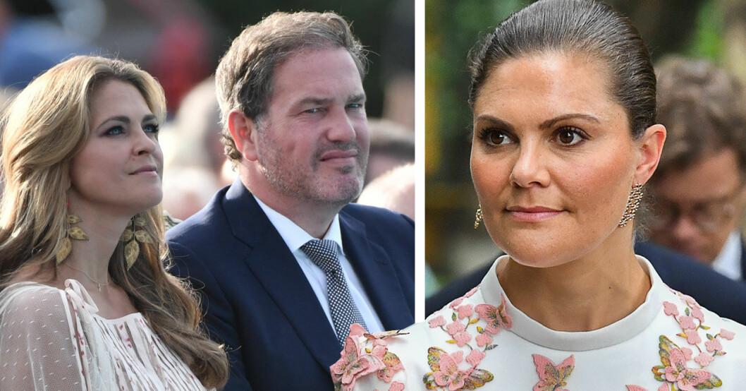 Prinsessan Madeleine och kronprinsessan Victoria