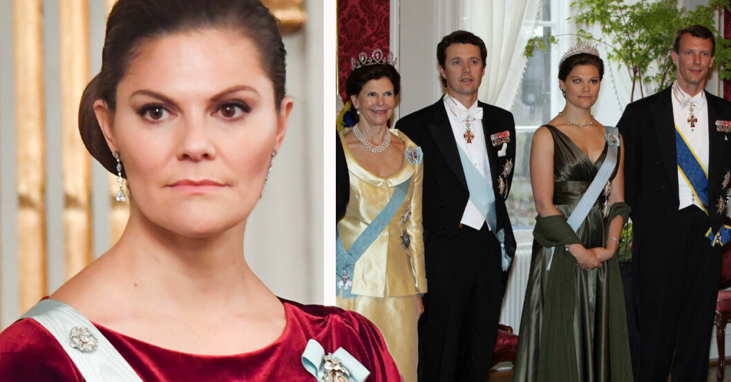 Kronprinsessan Victoria, drottning Silvia, kronprins Frederik, prins Joachim