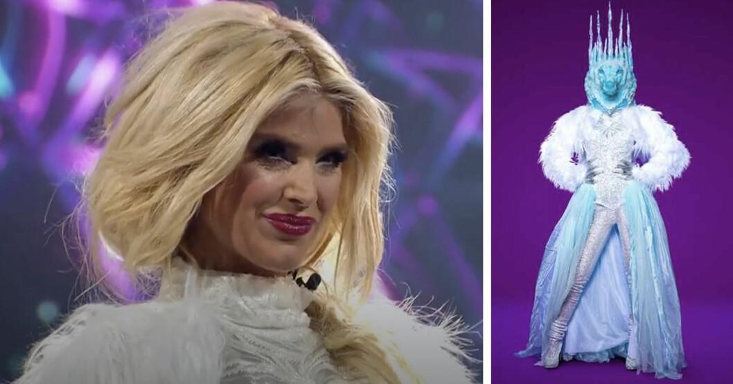 Victoria Silvstedt är Isvargen i Masked singer Sverige