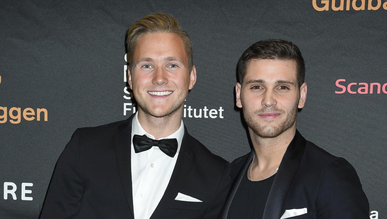 Viktor Frisk och Sean Canning