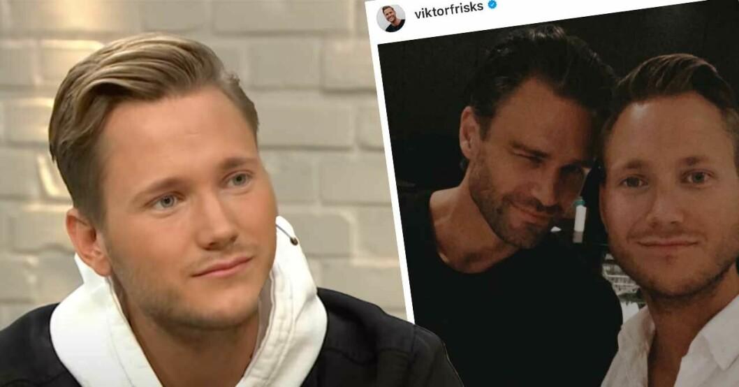 Viktor Frisk och Andreas Gran