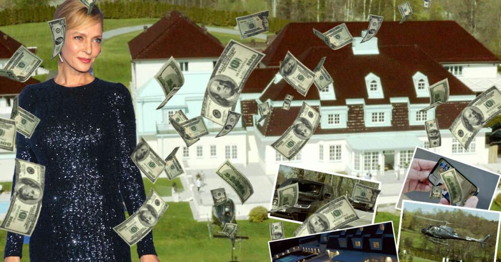 Uma Thurman kan köpa Villa Söderås