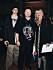 Vincent Pontare ihop med pappa Roger och mamma Elisabeth 2001