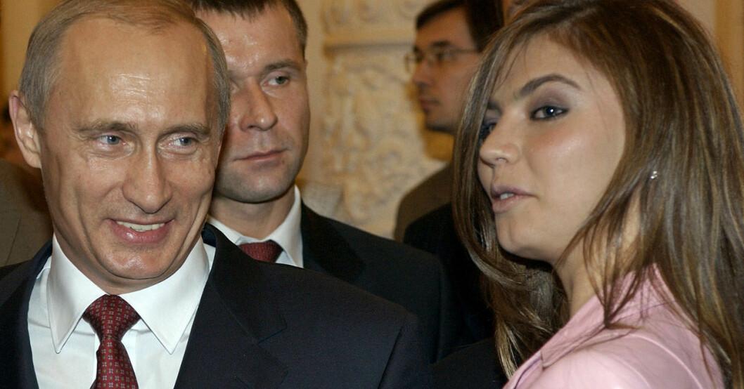 Vladimir Putin och Alina Kabajeva.