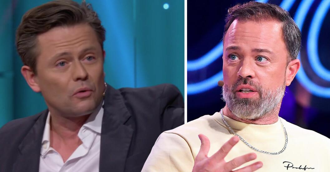 Fredrik Wikingsson berättar om när han fick ett vredesutbrott mot Alexander Kronlund.
