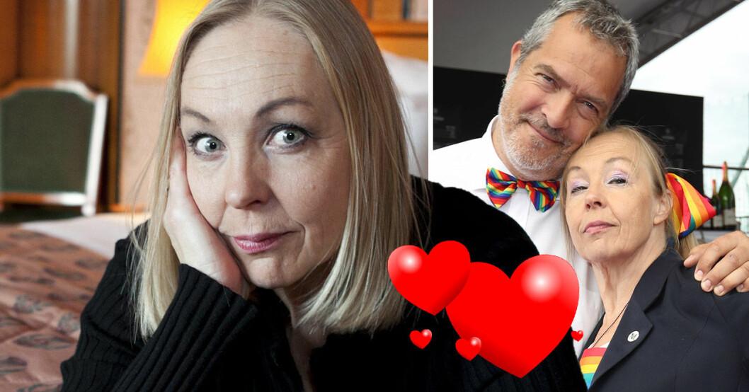 Ylva Maria Thomson och maken Mats Granö.