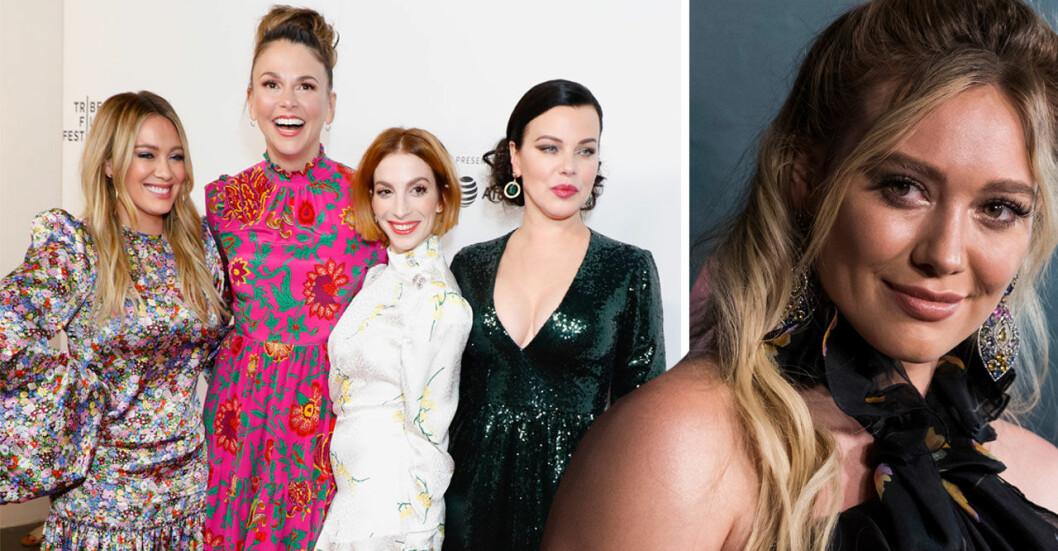 Hilary Duff, Sutton Foster, Molly Bernard and Debi Mazar, New York 2019