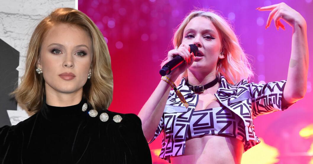 Zara Larsson är rädd att hennes fans inte kommer att gilla hennes musik, därför har sångerskan inte släppt några nya låtar.