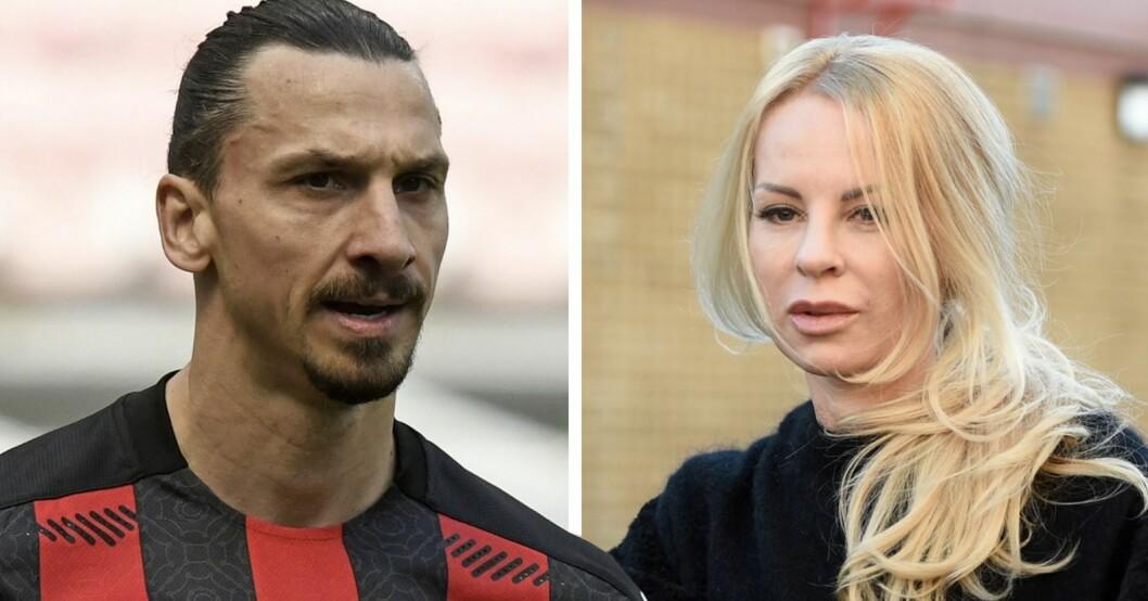 Zlatan Ibrahimovic & Helena Seger