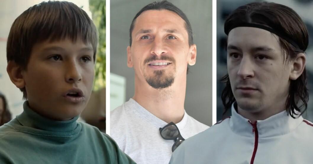 Jag är Zlatan-filmen vilka spelar rollerna