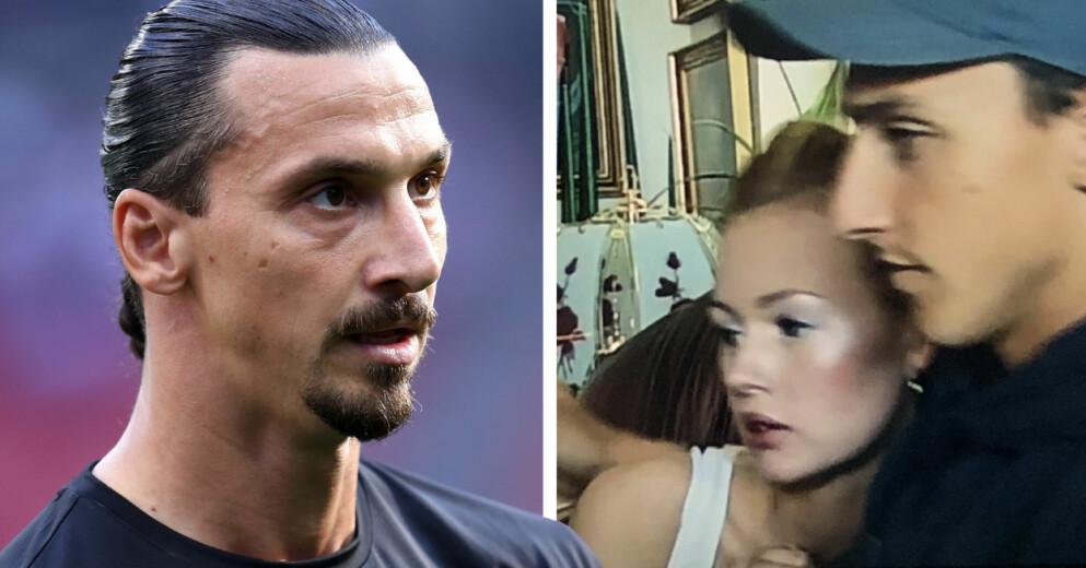Zlatan Ibrahimovics & ex-flickvännen Mia Olhage
