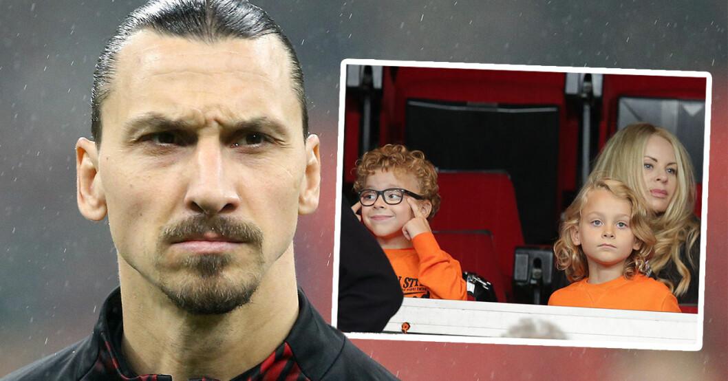 Ovissa framtiden för Zlatan Ibrahimović och Helena Seger – beskedet med sönerna