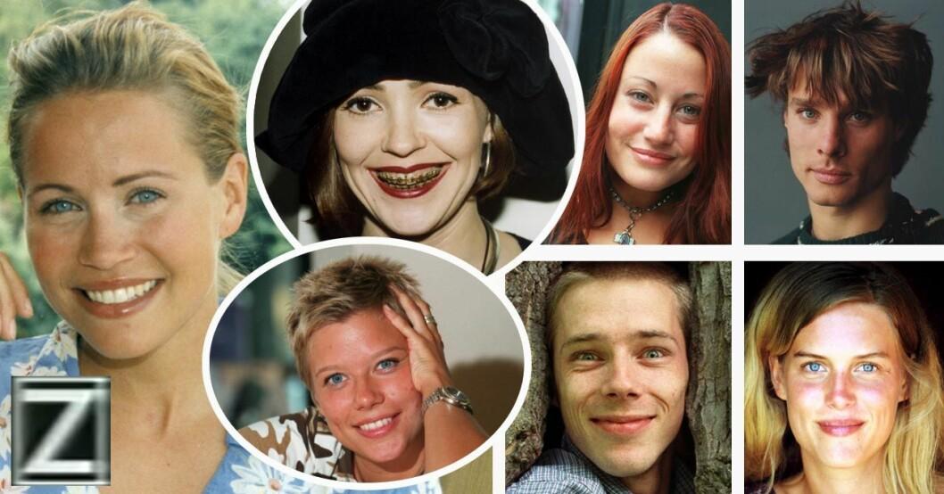 ZTV-programledarna Ebba Blitz, Cia Berg, Emma Hamberg, Kajsa Mellgren, Ola Lindholm, Peter Siepen och Anna Valdsoo.