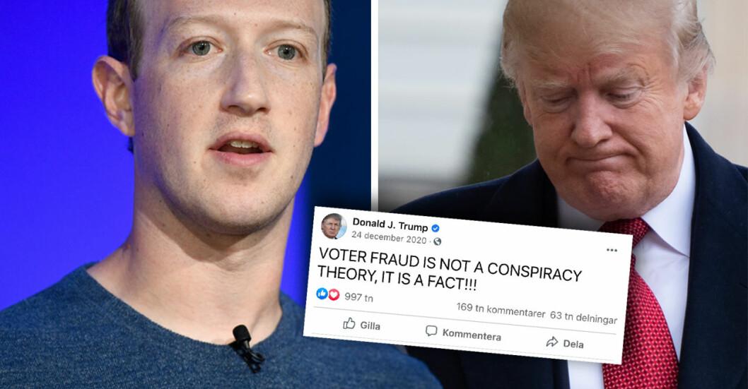 Donald Trump har blivit blockerad från sociala medier-jätten Facebook. Nu svarar han med att lansera en egen sajt.
